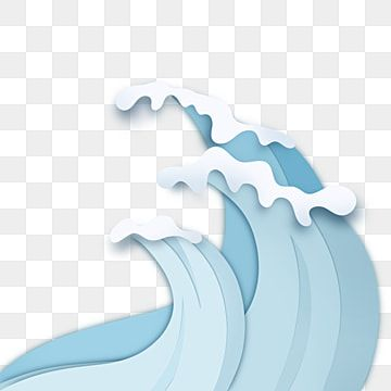 Gradient Ocean Wave Blue Element Wave Clipart Gradient Sea Wave Png Transparent Clipart Image And Psd File For Free Download Wave Illustration Sea Waves Wave Clipart