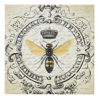 Vintage Bee and Roses Shabby Bees ....Instant Digital Download Hang Tags Gift Tags Scrapbooking