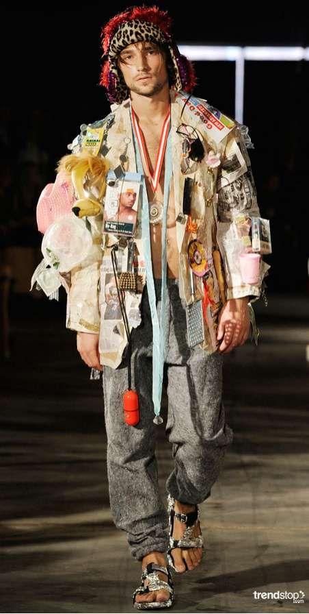 Can Couture Simon Rasmussen Promotes Fashionable Upcycling for Spring 2011 Simon Rasmussen Promotes Fashionable Upcycling for Spring 2011