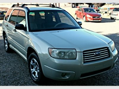 2007 Subaru Forester Awd 4dr H4 At X Green Suv 4 Doors 3995 To View More Details Go To Https Www Arianautosales Com Inve Subaru Forester Suv Awd