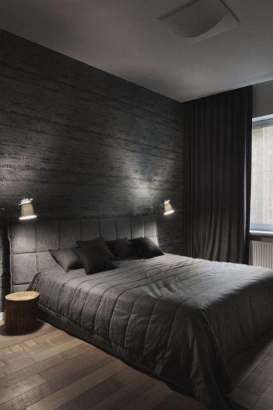 Modern Bedroom Decorating Ideas For Men 37 Black Bedroom Decor
