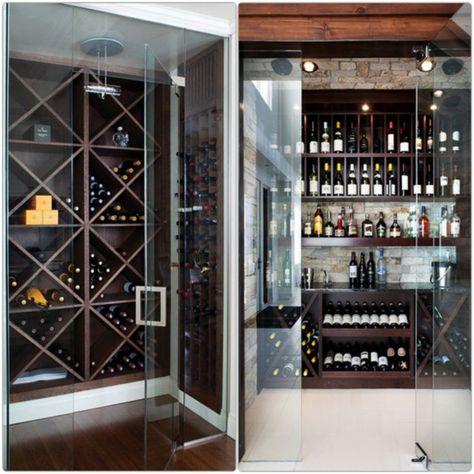 Weinkeller bauen holz  weinregale aus holz bauen teure weine weinkeller | Inspiration ...