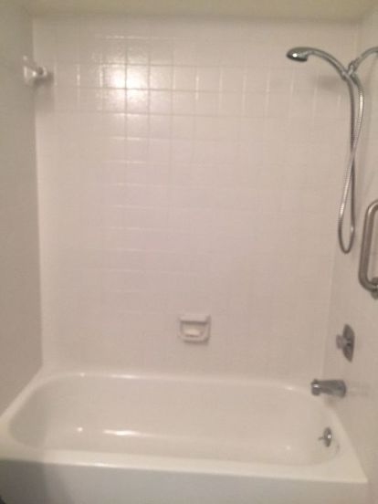 How To Give New Life To Old Bathtub Surround And Tile Over Tile