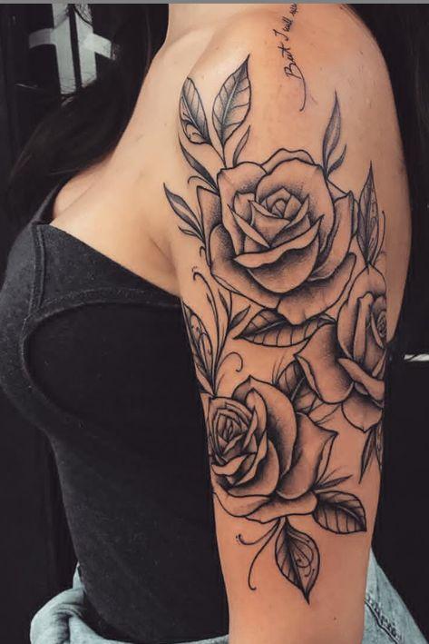 55 Beautiful Rose Tattoo Ideas