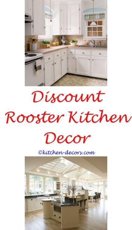 Kitchen Decor Red Accents Shabby Chic 38 Ideas Kitchen Decor Red Kitchen Decor Chicken Kitchen Decor