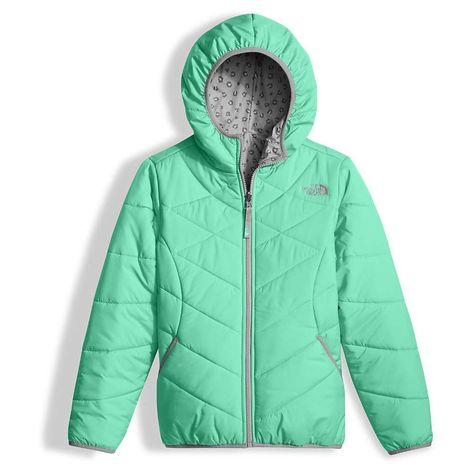 ec17226b1 The North Face Girl s Reversible Perrito Jacket - Large - Bermuda ...
