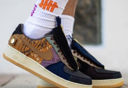 Travis Scott Nike Air Force 1 Low Zipper Cn2405 900 Release Date
