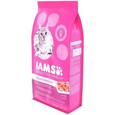 Iams Sensitive Stomach Proactive Health Dry Cat Food Chicken