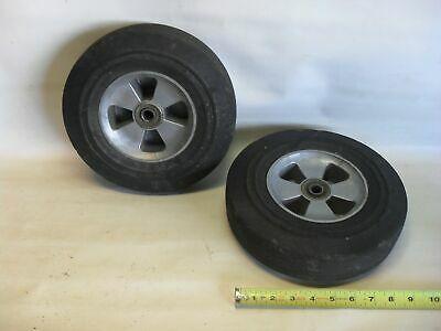 Lot Of 2 Ace Tuf 10 X 2 Semi Pneumatic Wheels For 5 8 Axle 0507 3 Ebay In 2020 Wheel Axle Ebay