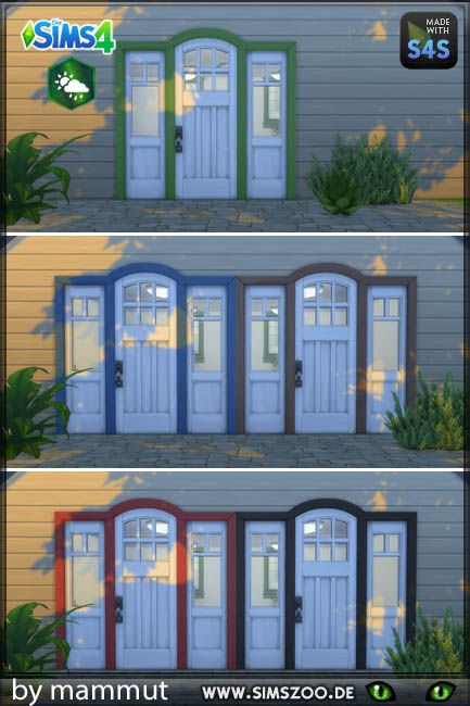Blackys Sims 4 Zoo Door 3 1 By Mammut Sims 4 Downloads Sims 4