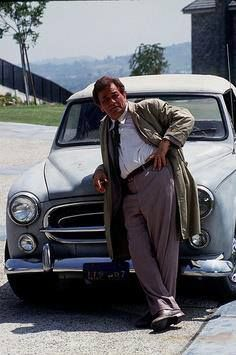 columbo and his 1959 peugeot 403 cabriolet | peugeot | pinterest