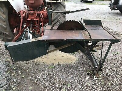 Ad Mcconnel Pto Tractor Sawbench Sliding Table Sliding Table Wood Splitter Tractors