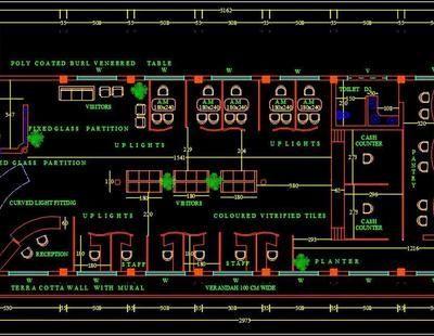 Bank Floor Plan Layout Dwg File In 2020 Floor Plan Layout Bank Interior Design Interior Design Layout