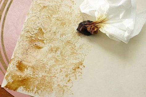 How to Make Coffee Stained Paper: 7 steps (with pictures)