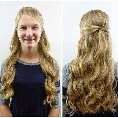 Wwv Hairstylestrends Me Long Thin Hair Pulled Back Hairstyles Hair Styles