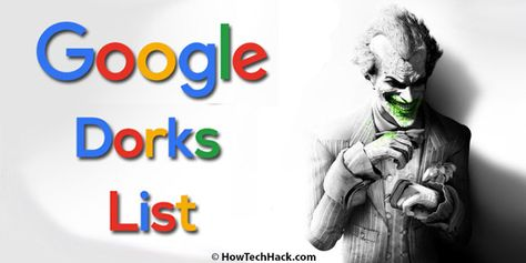 Google Dorks List 2020   Latest Google Dorks 2020 for SQLi {Updated*}