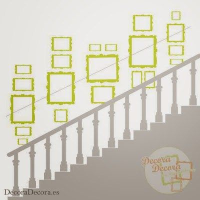 Como Colgar Cuadros En Una Escalera Home Decor Home Deco Living Room Designs