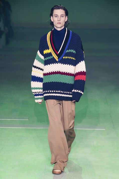 Lacoste Fall 2019 Ready-To-Wear Collection Review #lacoste #fall2019 #paris #pfw