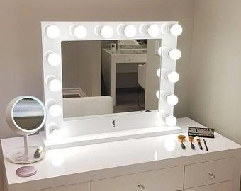Xl5 Etsy Vanity Mirror Makeup With Lights