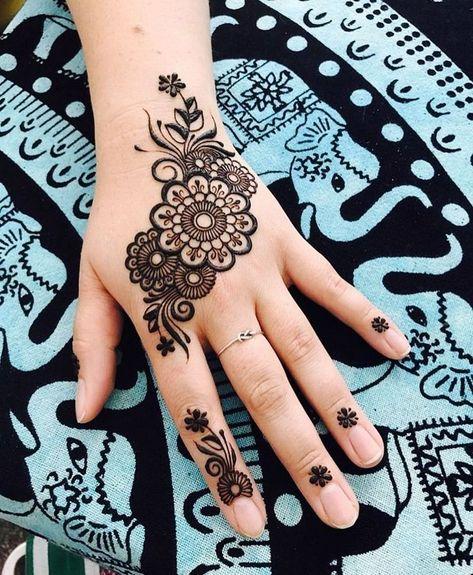 140 Idees De Modele Henna Henne Modeles De Henne Tatouage Au Henne