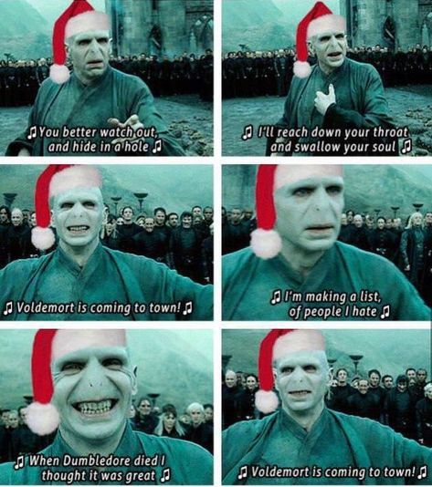 In honour of Ralph Fiennes (aka Voldemort)'s Birthday at this festive time  h/t @9gag | FANDOM
