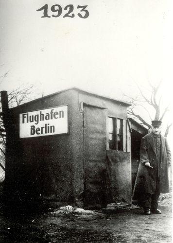 Erstes Bild von #Tempelhof 1923 #Berlin #THF © Flughafen Berlin Brandenburg GmbH / Archiv