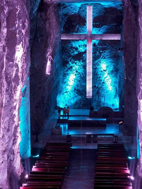 Colombia - Salt Cathedral of Zipaquirá, Cundinamarca.