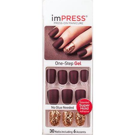 Buy Kiss Impress Nail Kit At Walmart Com Impress Nails Impress Nails Press On Kiss Press On Nails