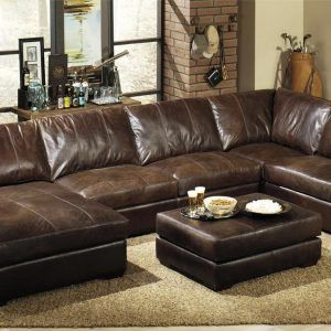 Large Leather Sectional Sofas With Chaise