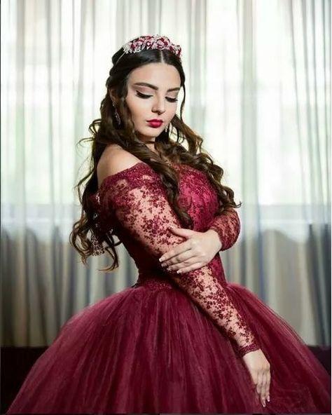 Resultado De Imagen Para Vestido Xv Vino Vestidos Color