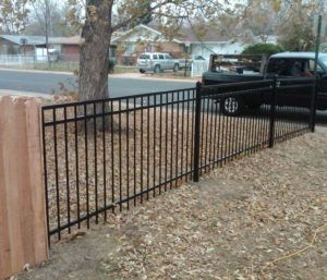 Wrought Iron Fence Post Spacing Metal Fence Panels
