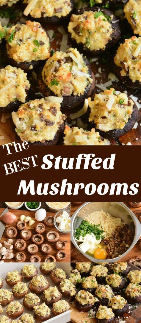 Stuffed Mushrooms - Easy Appetizer To Make Your Party A Success