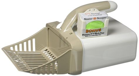 Neater Pet Brands Litter Scooper With Attached Waste Bin 15