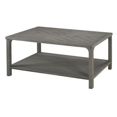 Free Shipping Buy Manor Park 42 Wood Chevron Coffee Table Grey At Walmart Com Coffee Table Grey Coffee Table Square Coffee Table Farmhouse