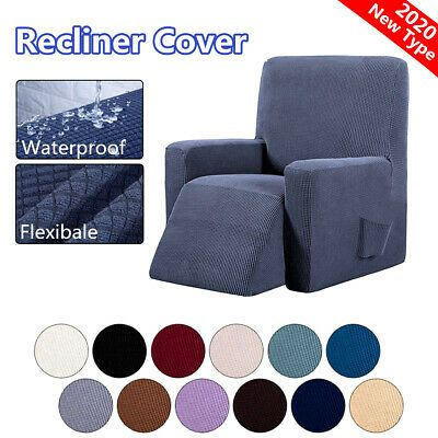 Advertisement Recliner Chair Covers All Inclusive Sofa Chair Cover Couch Slipcover Waterproof In 2020 Recliner Cover Slip Covers Couch Recliner Chair Covers