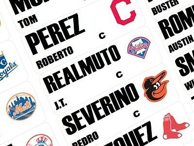 Advertisement Ebay 2020 Fantasy Baseball Draft Board Labels Draft Kit In 2020 Fantasy Baseball Baseball Labels
