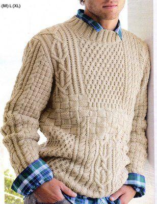 Martin Storey ROWAN -MAGAZIN ZB161 Brushed Fleece Strickanleitung