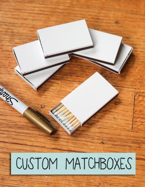 Custom Matchboxes
