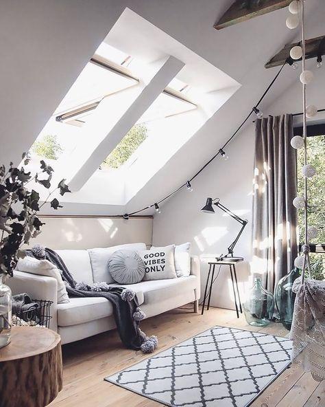 Un intérieur lumineux avec Velux   D é c o   Pinterest   Déco ...