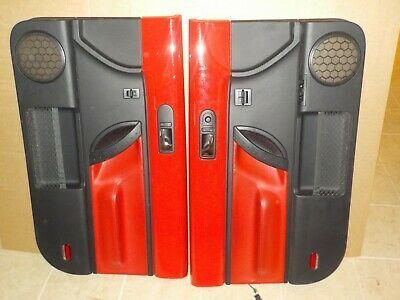 Ad Ebay 98 99 00 01 02 10 Vw New Beetle Turbo Red Black Door Trim Panels Left Right Oem With Images Vw New Beetle New Beetle Volkswagen Beetle Convertible