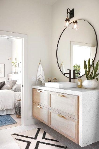 Bathroom Countertop Inspirations Simple Bathroom Designs