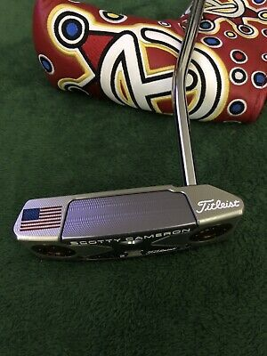 """2018 Scotty Cameron Select Squareback Putter Right Hand 33"""" NEW"""
