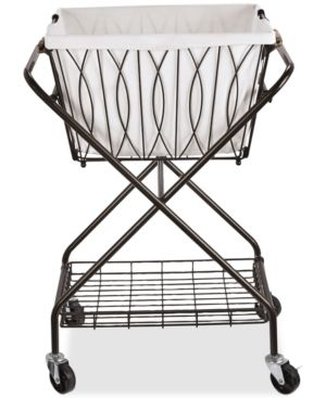 Mikasa Rope Napkin Basket In 2020 Laundry Cart Rolling Laundry