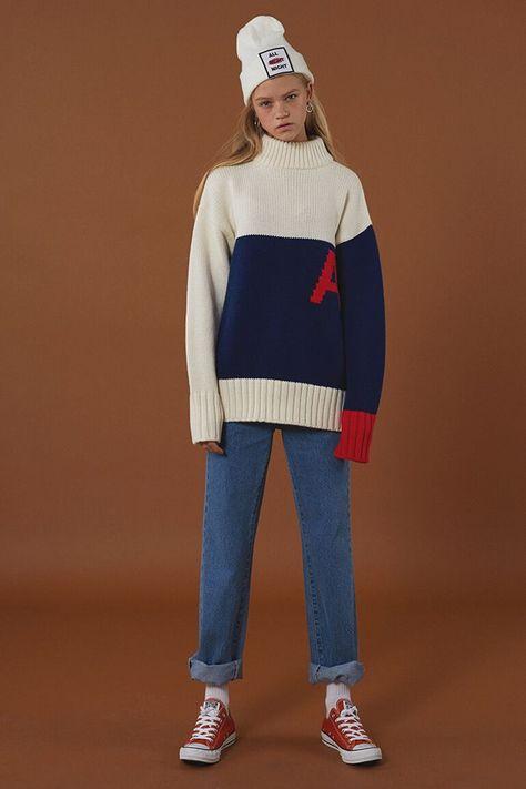 Clean, Minimal Winter Knitwear From ADER Error