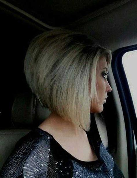 Chic Inverted Bob Hair Cuts for Women - Love this Hair