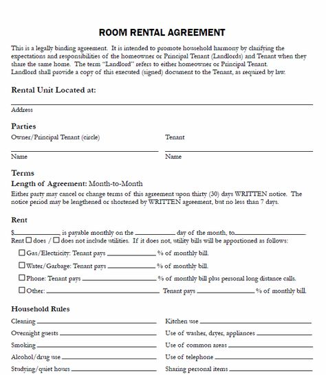 Free Printable Residential Lease Agreement Free Printable Lease - sample standard lease agreement