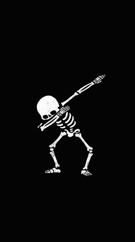 Skeleton Black White Scary Wallpaper Halloween Wallpaper Iphone Skull Wallpaper
