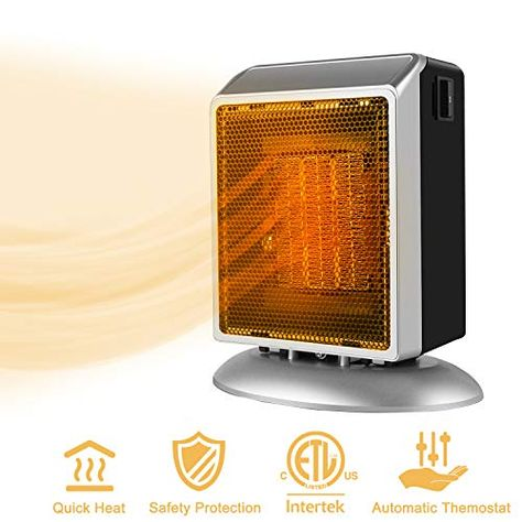 Duraflame 1500-Watt Infrared Compact Personal Electric Space Heater with Thermos