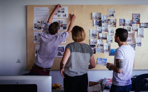Mood boards and collaborative collecting are the perfect way to put a project's goals and expectations in perspective.