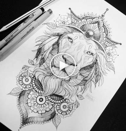 48 Best Ideas For Tattoo Ideas Hip Lion In 2020 Animal Tattoos Back Tattoo Lion Tattoo